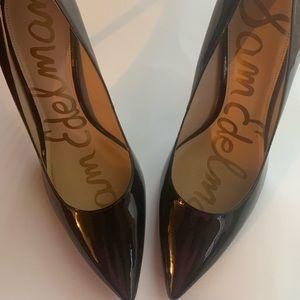 Sam Edelman Black Patent Heels